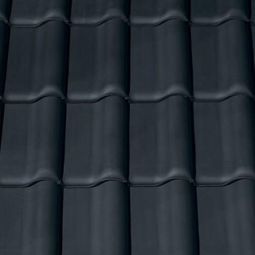 Nuance matt fekete Creaton Futura Alapcserép | égetett cserép - szín minta