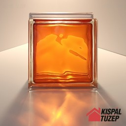 Narancssárga üvegtégla