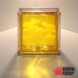 Sárga üvegtégla