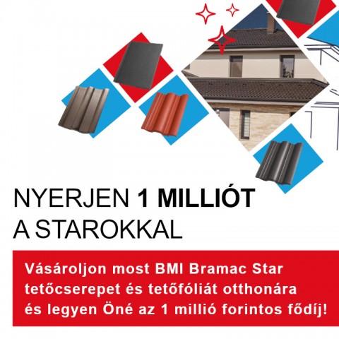 Bramac Star Tetőcserép Promóció