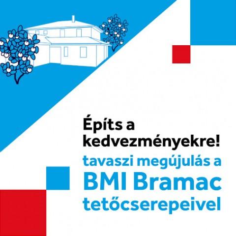 Bramac 2021-es évnyitó tetőcserép akció